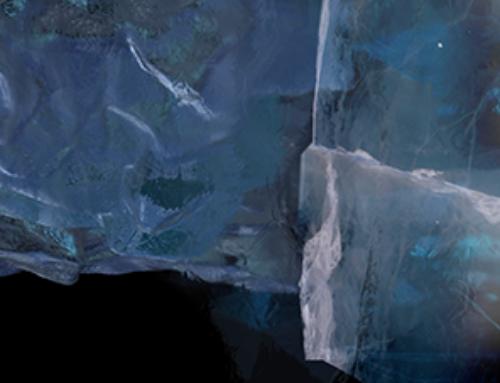 Arktis-Medan isen smälter